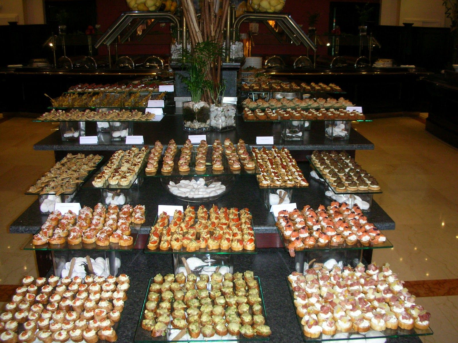 Finger food display . (With images) Sunday buffet