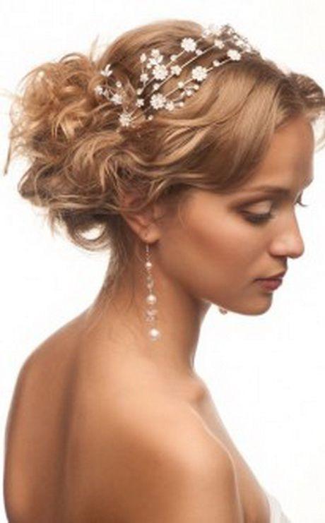 hochsteckfrisuren kurze haare hochzeit | festliche