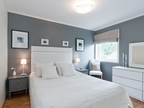 Bedroom Decor With Grey Walls white frames on grey wall | bedroom ideas | pinterest | walls