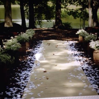 Beautiful wedding venue under a canopy of trees! - Yelp ...