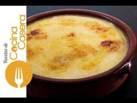Crema catalana | Recetas de Cocina Casera - Recetas fáciles y ...
