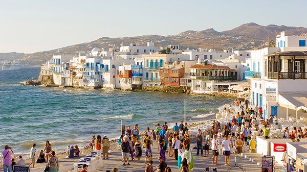 Places to go for honeymoon | Mykonos Greece - Love4Wed