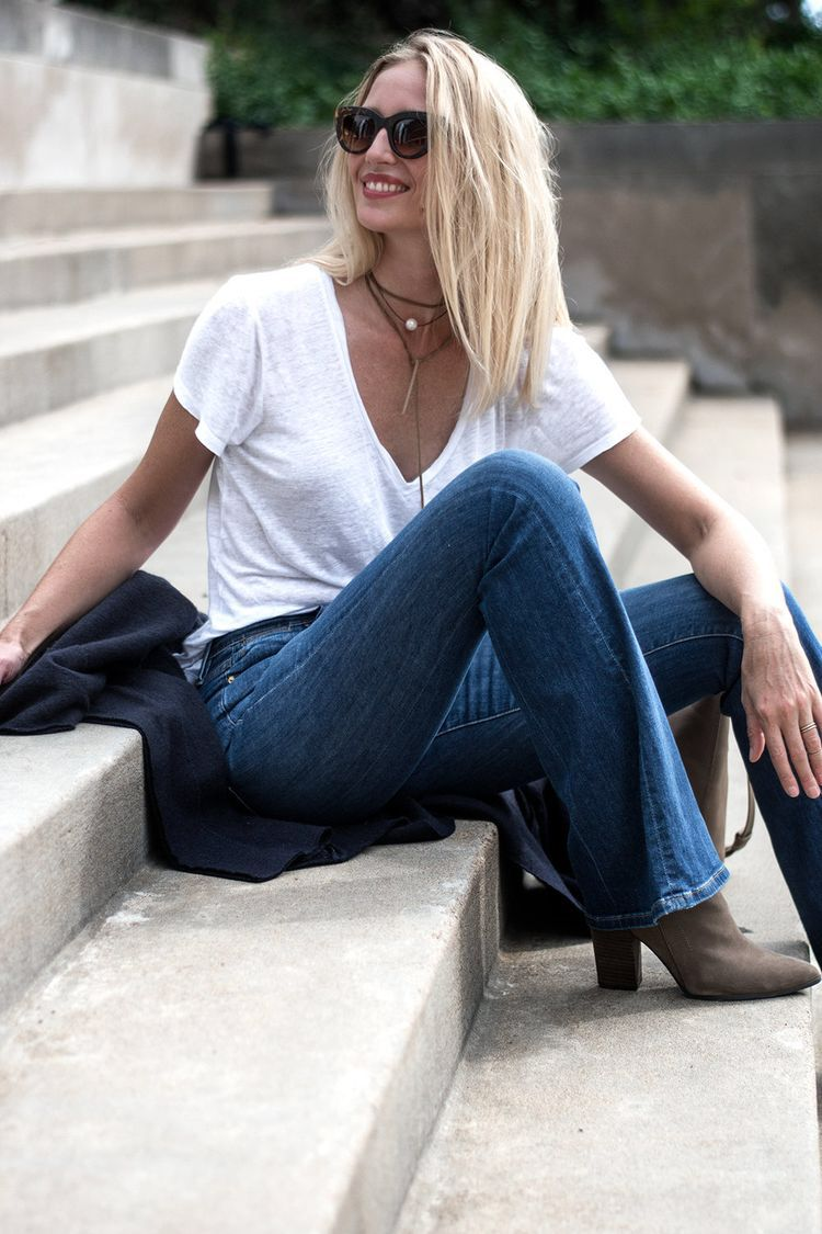 Jeans and a Tee