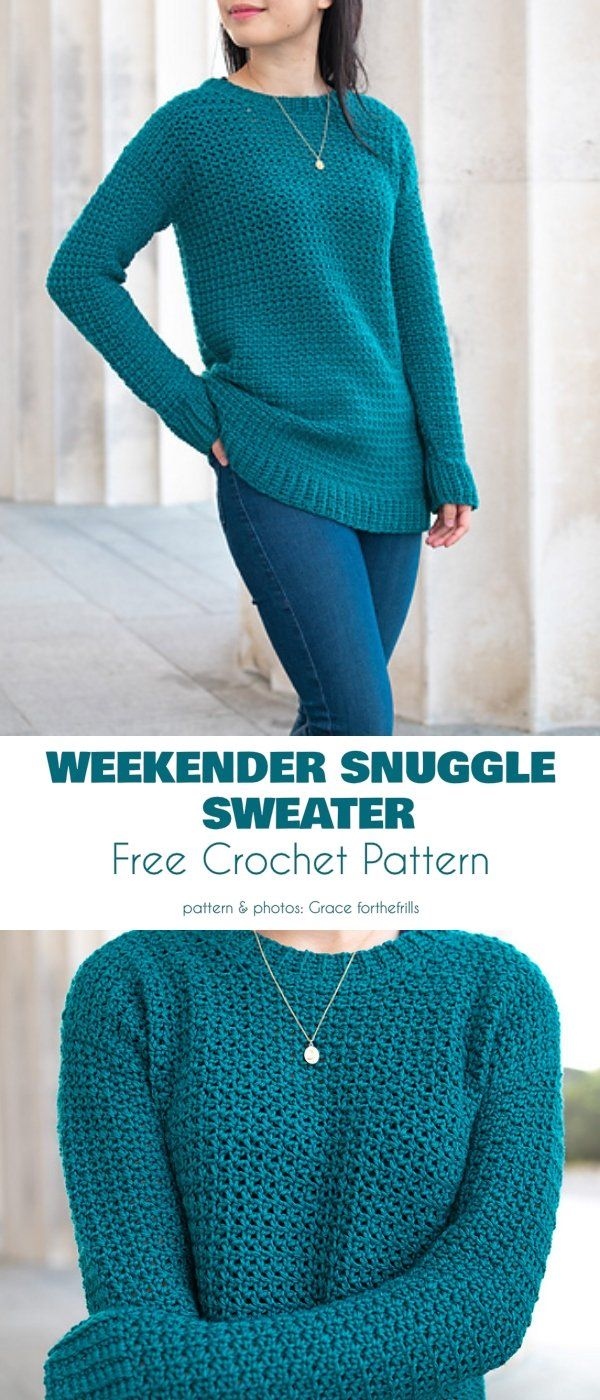 Sweater For Every Occasion Free Crochet Patterns