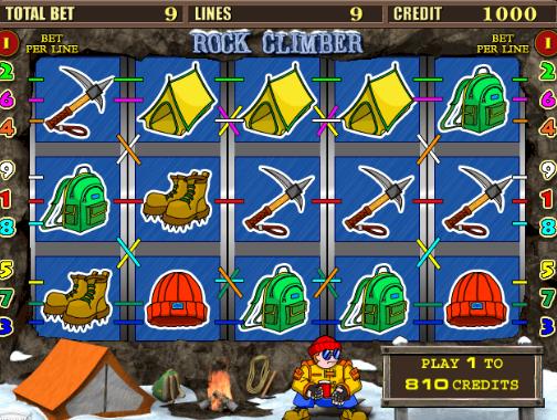 Слот игровые автоматы rock climber покер зарабатывать онлайн