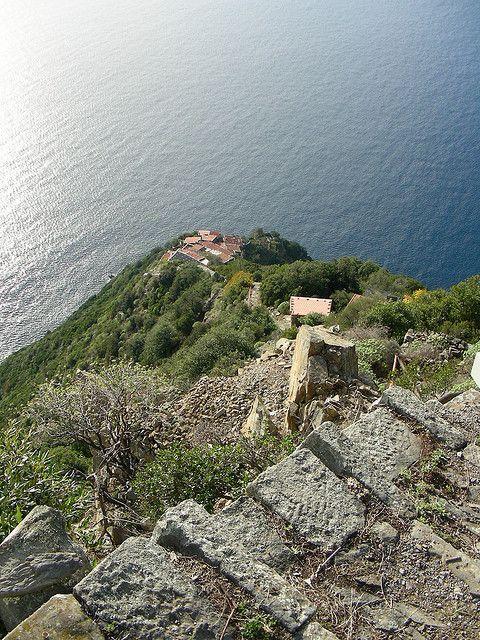 Monesteroli (molto dall'alto) - Cinque Terre, Italy