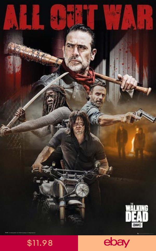 The Walking Dead Negan with Lucille 11X17 AMC TV Poster