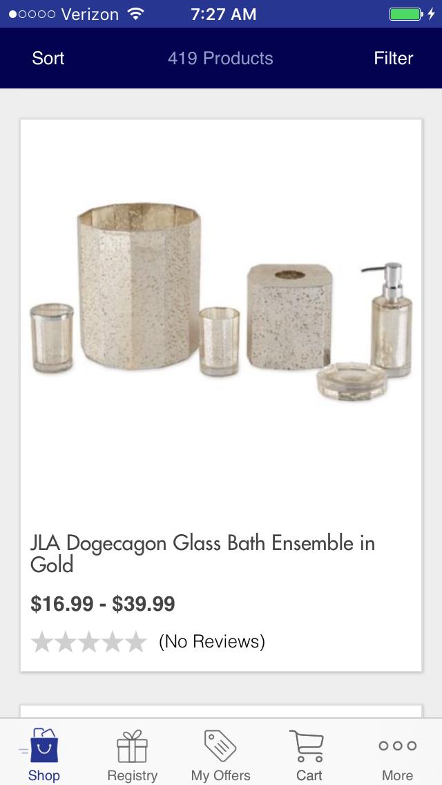 Dogcagon Gold Bed Bath Beyond Bathroom Pinterest