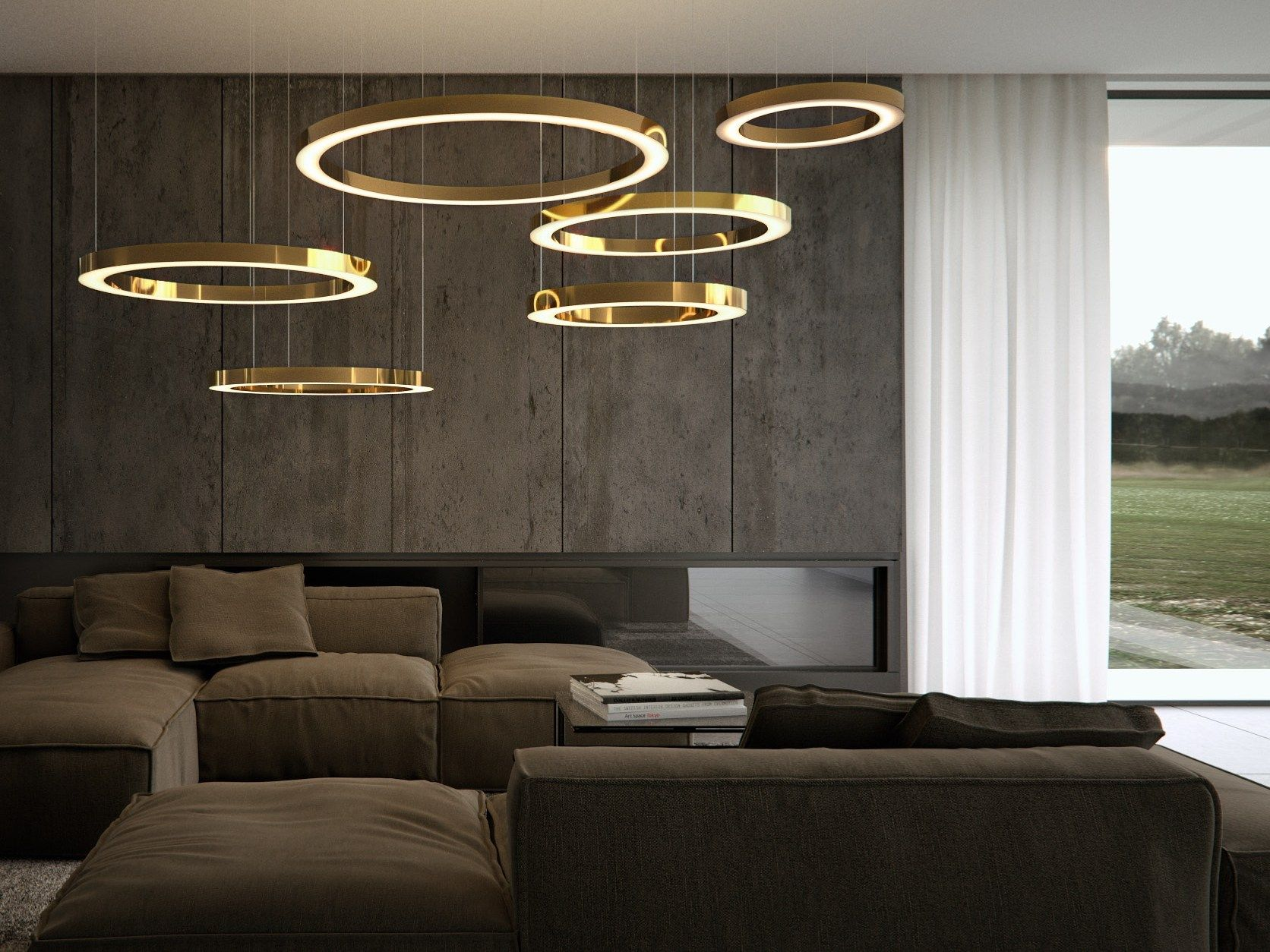 Wohnzimmerlampen Led Handmade Metal Pendant Lamp Mahlu By Cameron Design House