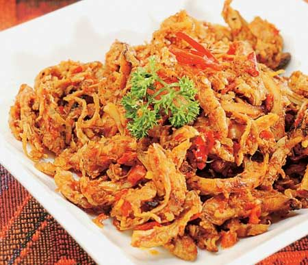 Kreasi Resep Masakan Ayam Suwir Spesial