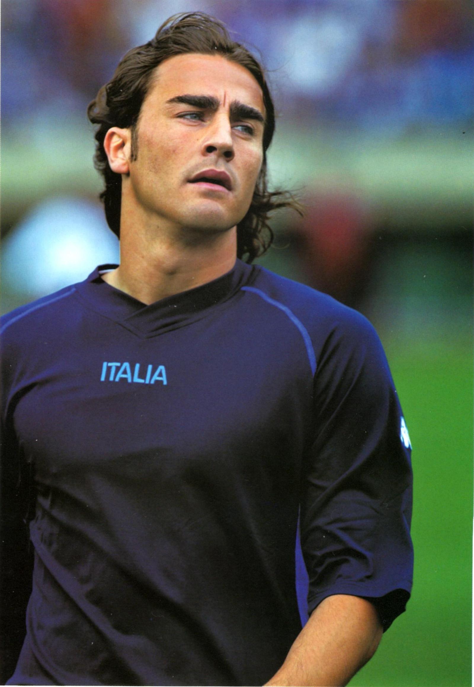 Italian Hotties Stunning fabio cannavaro 2002 | soccer hotties | pinterest | italian beauty