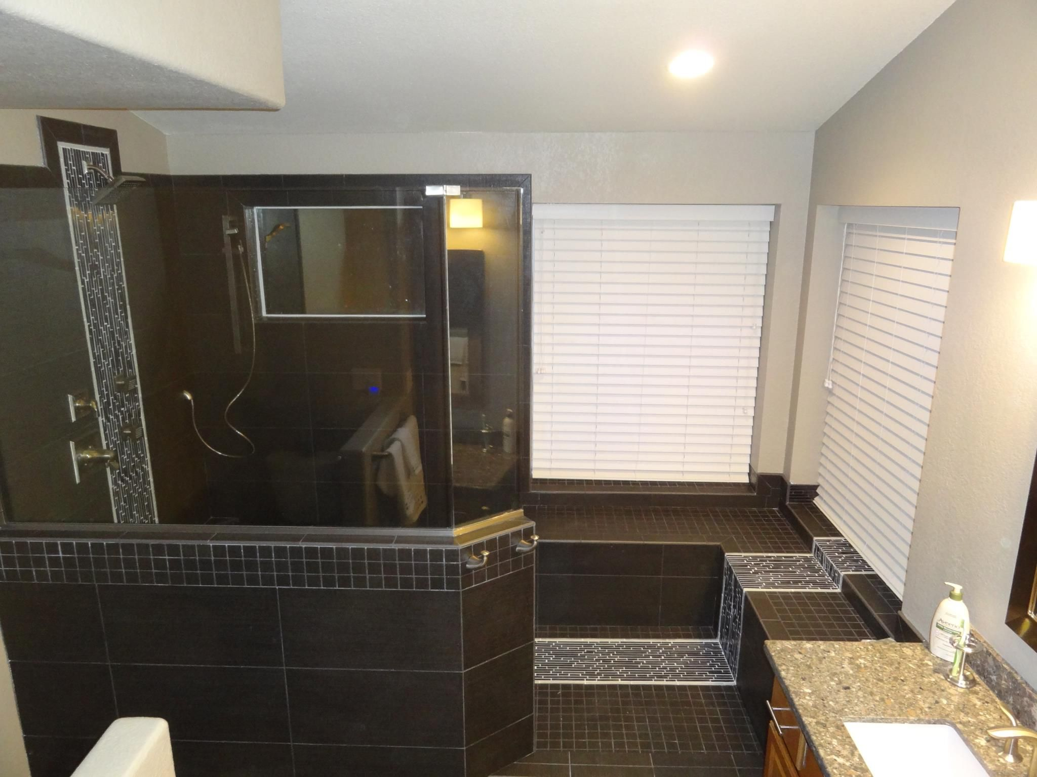 Bathroomblack White Bathroom Remodel Ideas Added With Brown Best Tulsa Bathroom Remodeling Design Decoration