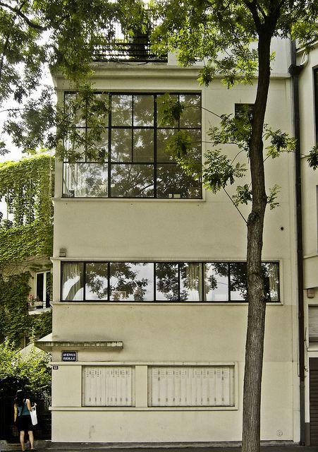 maison ozenfant Paris france, France and Architecture - peinture de facade maison
