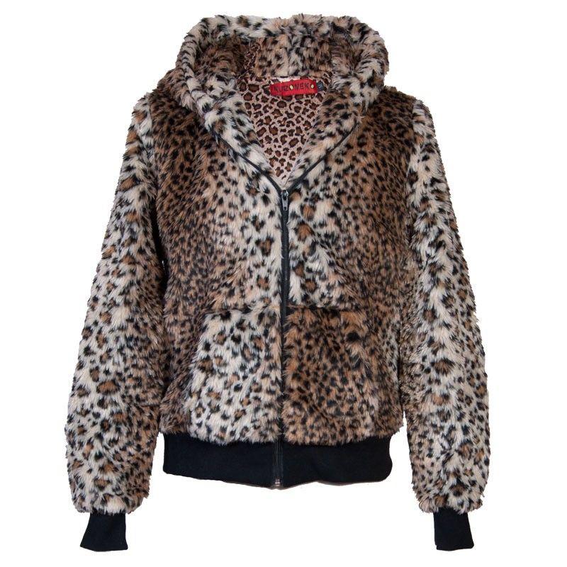 Fur coat/hoodie - Hoodies - Kleding Vrouwen - Women