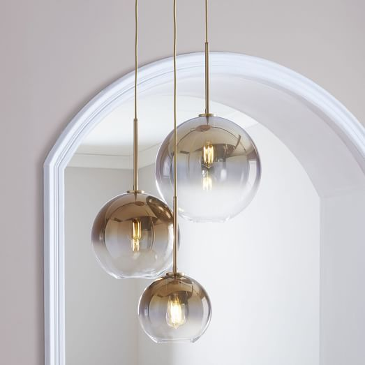 Sculptural glass globe 3 light chandelier mixed pinterest sculptural glass globe 3 light chandelier mixed aloadofball Image collections