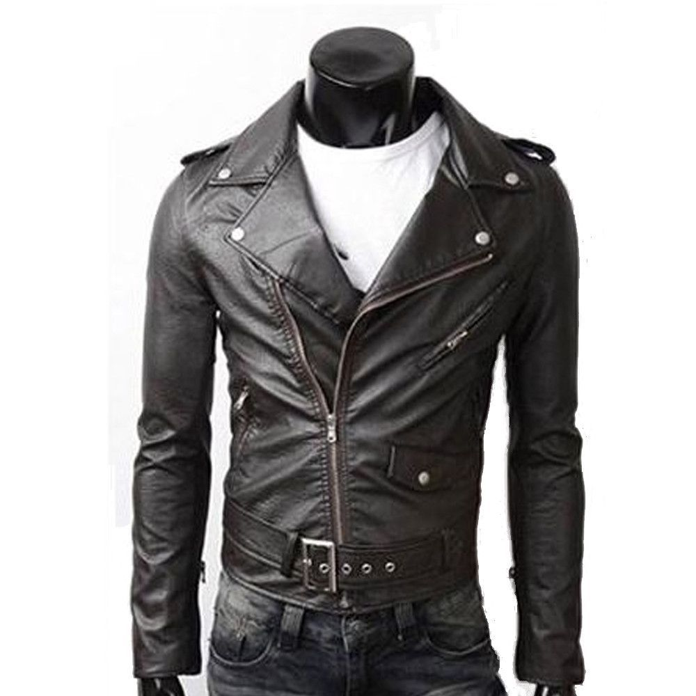 Amtify On Site No Coupons Needed Sales Save Time And Men S Biker Style Faux Leather Jacket Best Sel Leather Jacket Leather Jacket Men Mens Biker Style [ 1000 x 1000 Pixel ]