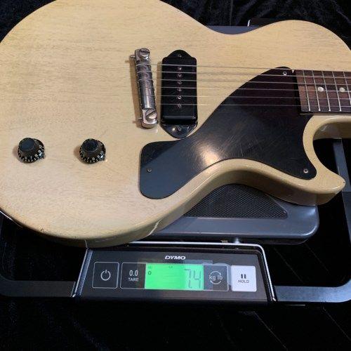 1956 Gibson Les Paul T.V. Jr. T.V. > Guitars Electric Solid Body | Drew Berlin's Vintage Guitars #vintageguitars