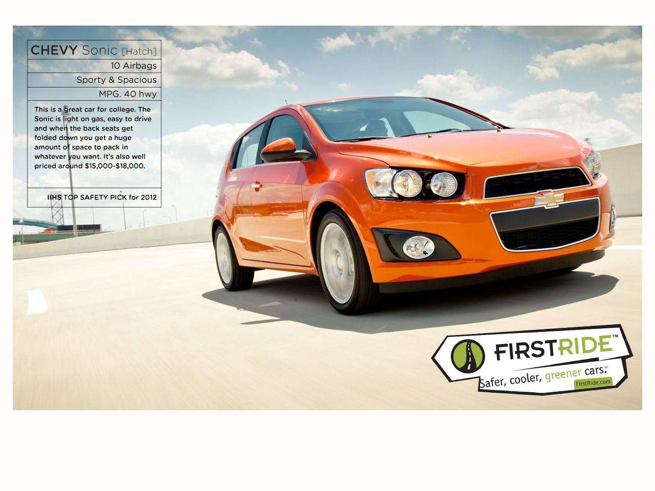 Chevy Sonic Hatch On Firstride Chevy Sonic Awesome Cool Cars