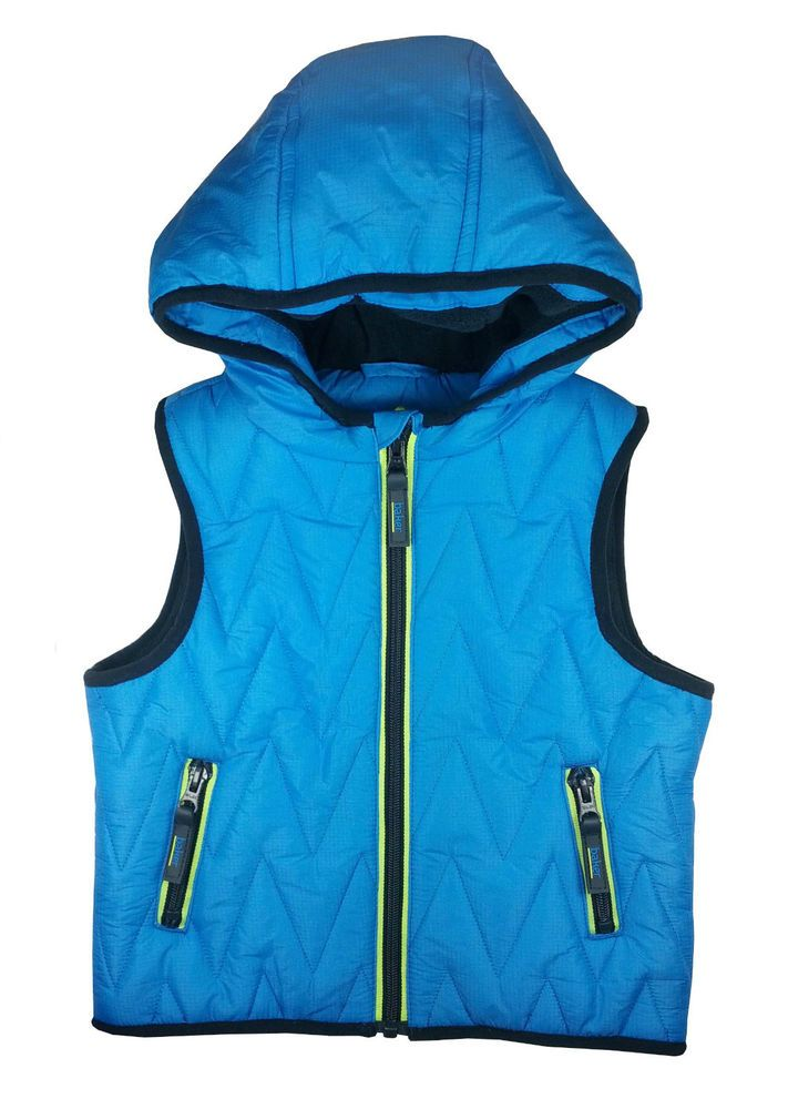 e7d3966d6 Ted Baker Boys Gilet Wadded Bodywarmer Blue Designer 2-3 Years
