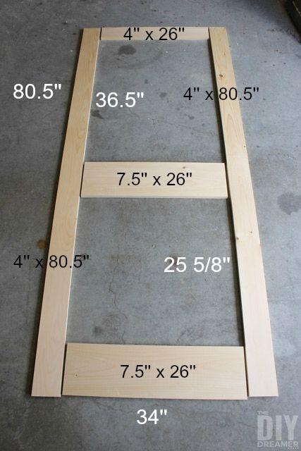 How to Build a Screen Door - DIY Screen Door | Pantry ...