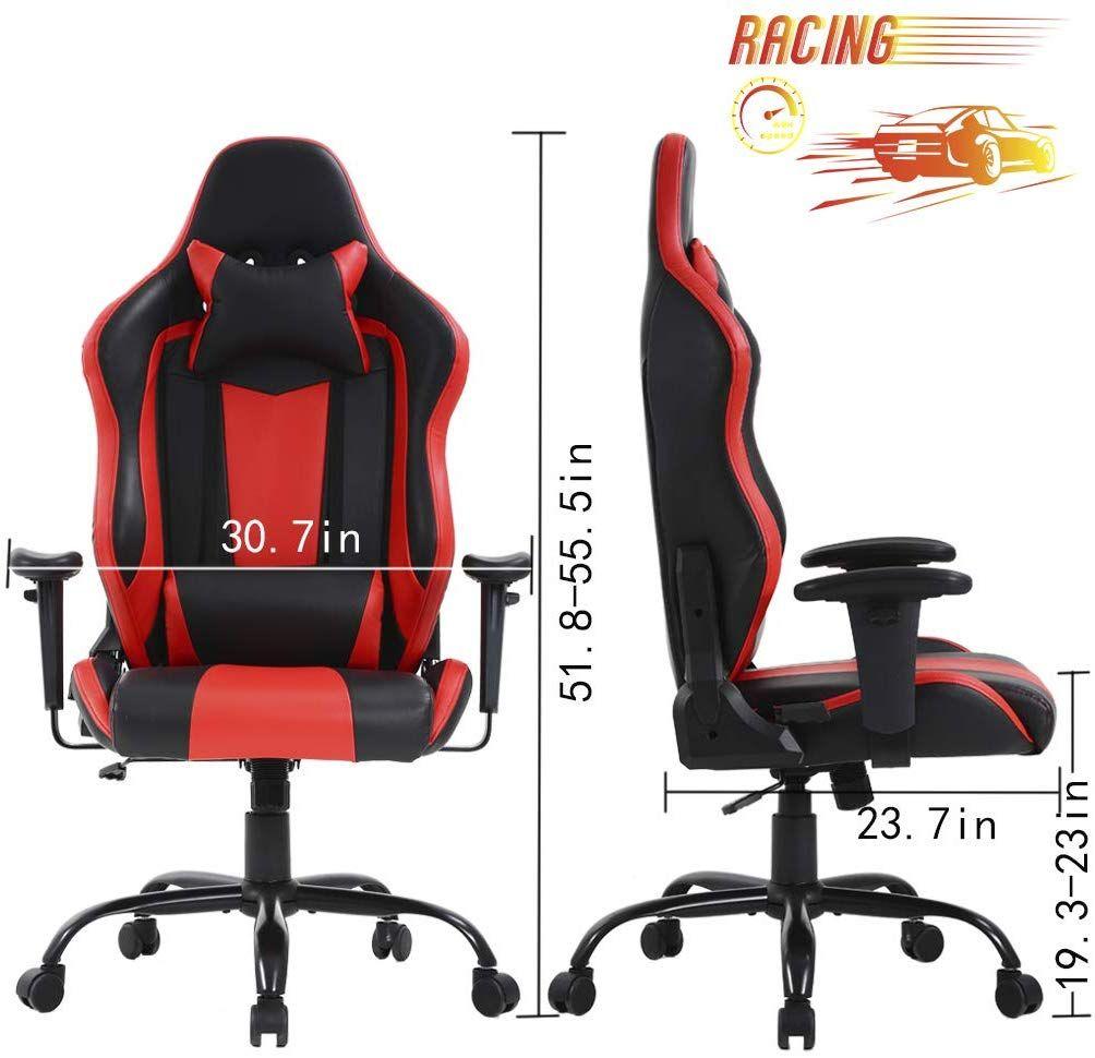 Big And Tall Office Chair 500lbs Cheap Desk Chair Ergonomic Computer Chair High Back Pu Executive Chair With Lumbar Support Bureau De Jeu Bureau Travail Bureau