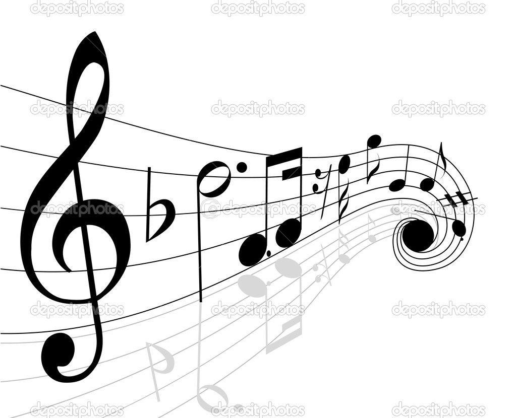 depositphotos 3749735 musical notes jpg 1023 830 a m sica rh pinterest com Music Note Icon Music Notes Vector Art Free