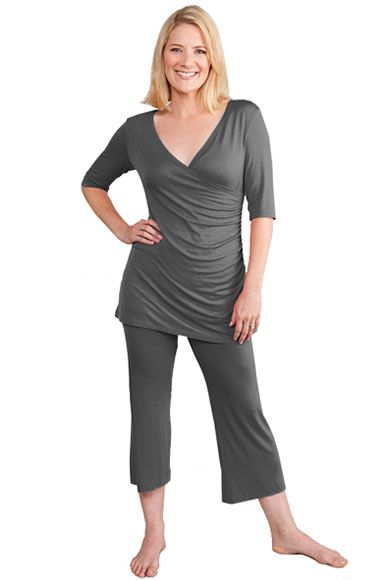 9dd52b1ae5405 Milkstars Maternity/Nursing Grey Nancy PJ Set | For the Next One ...
