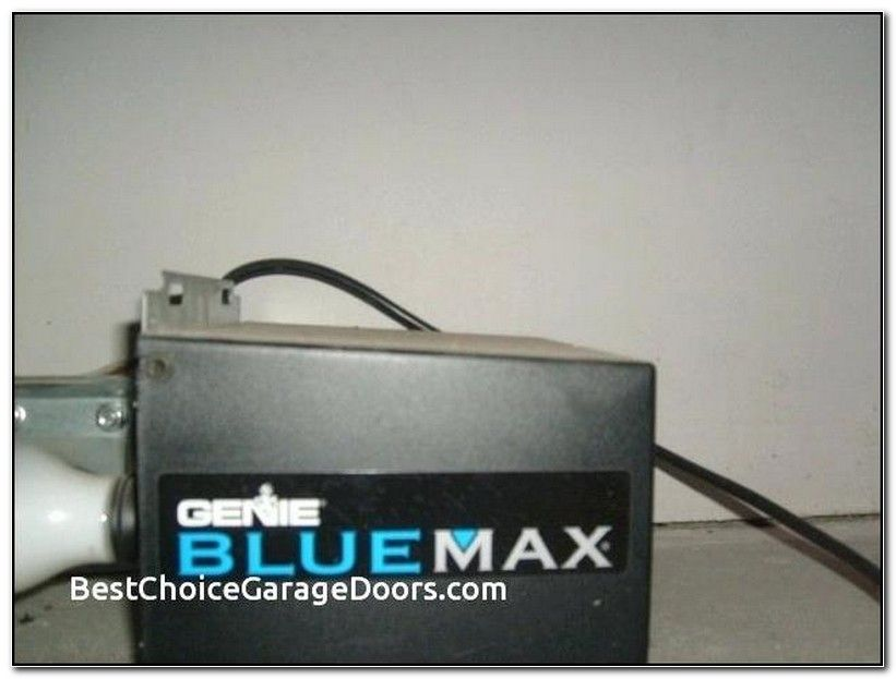 Genie Blue Max Garage Door Opener Learn Button Garage Door