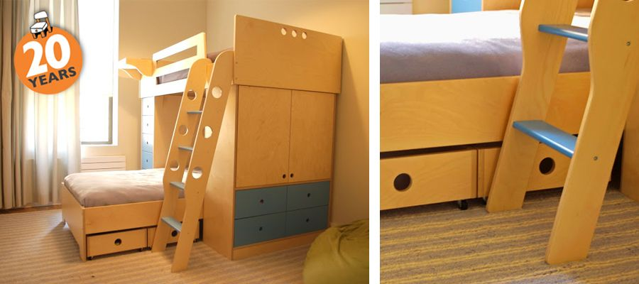 1000 images about cool bunk bed designs on pinterest bunk bed modern bunk beds and white kids room bunk beds casa kids