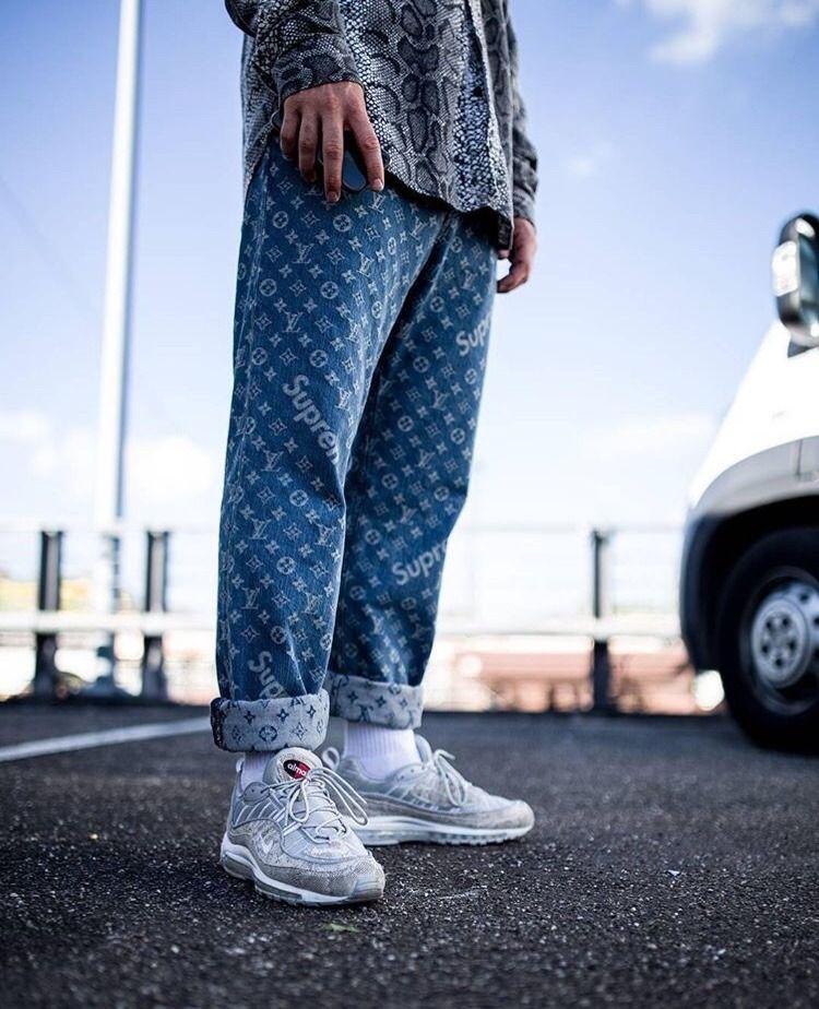 Supreme X Luis Vuitton See More Illumilondon Roupas Masculinas Estilo Masculino Roupas
