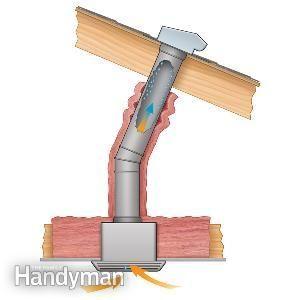 Better Insulation Will Prevent Water Stains Around Bath Fans Bathroom Exhaust Fan Kitchen Exhaust