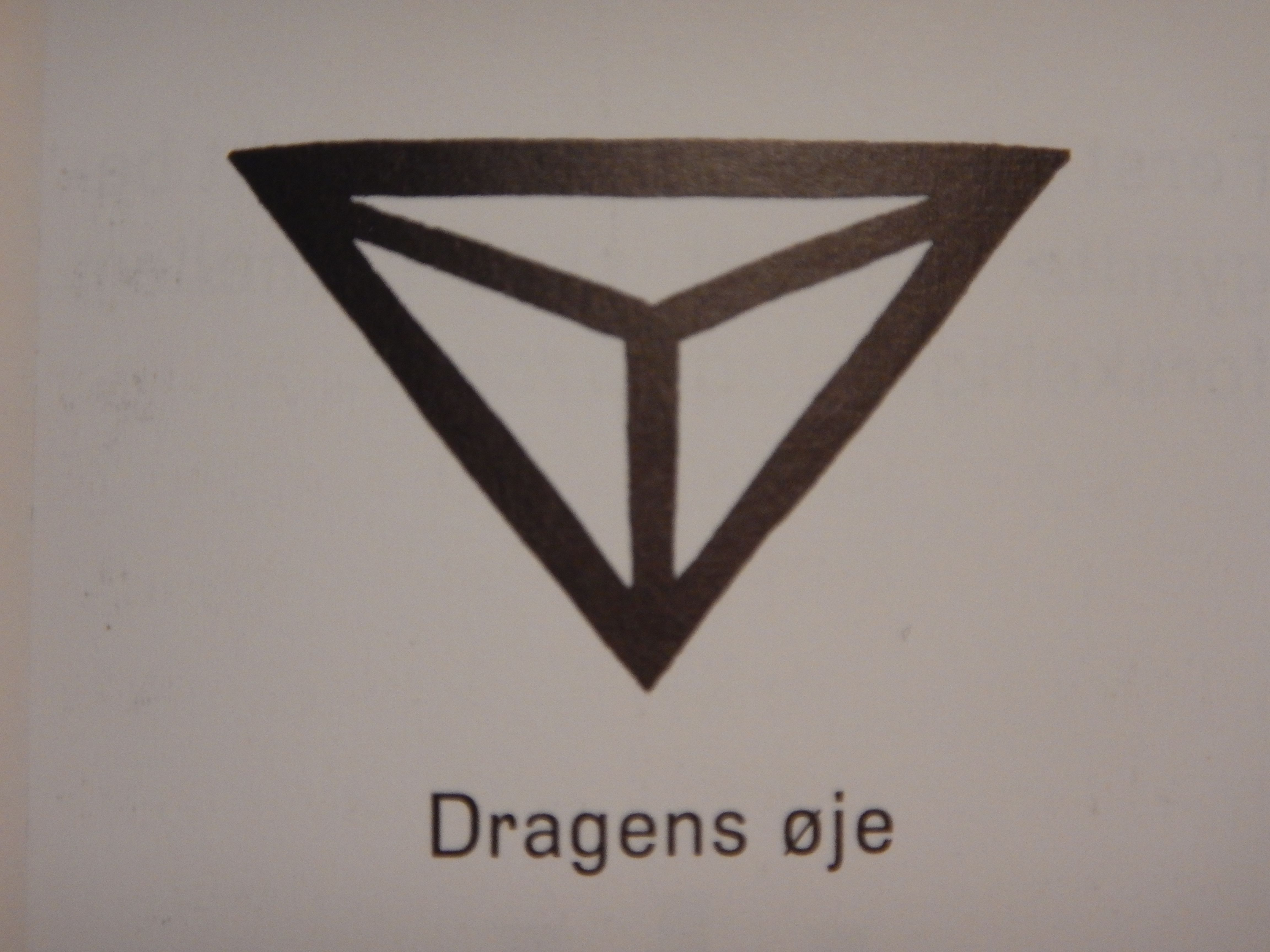 Germanic Iron Age Symbol Composed Of Triangles That Symbolize For