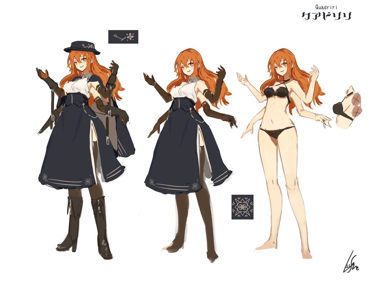 ランサネ On Twitter Female Character Design Female Character Concept Character Design Inspiration