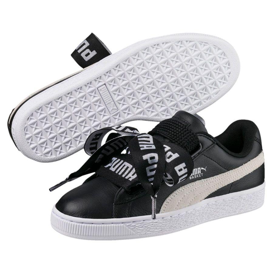 new concept 81da8 b8cc2 New Shoes   Clothing. PUMA Basket Heart DE pas cher prix promo Baskets  Femme PUMA 90,00 €