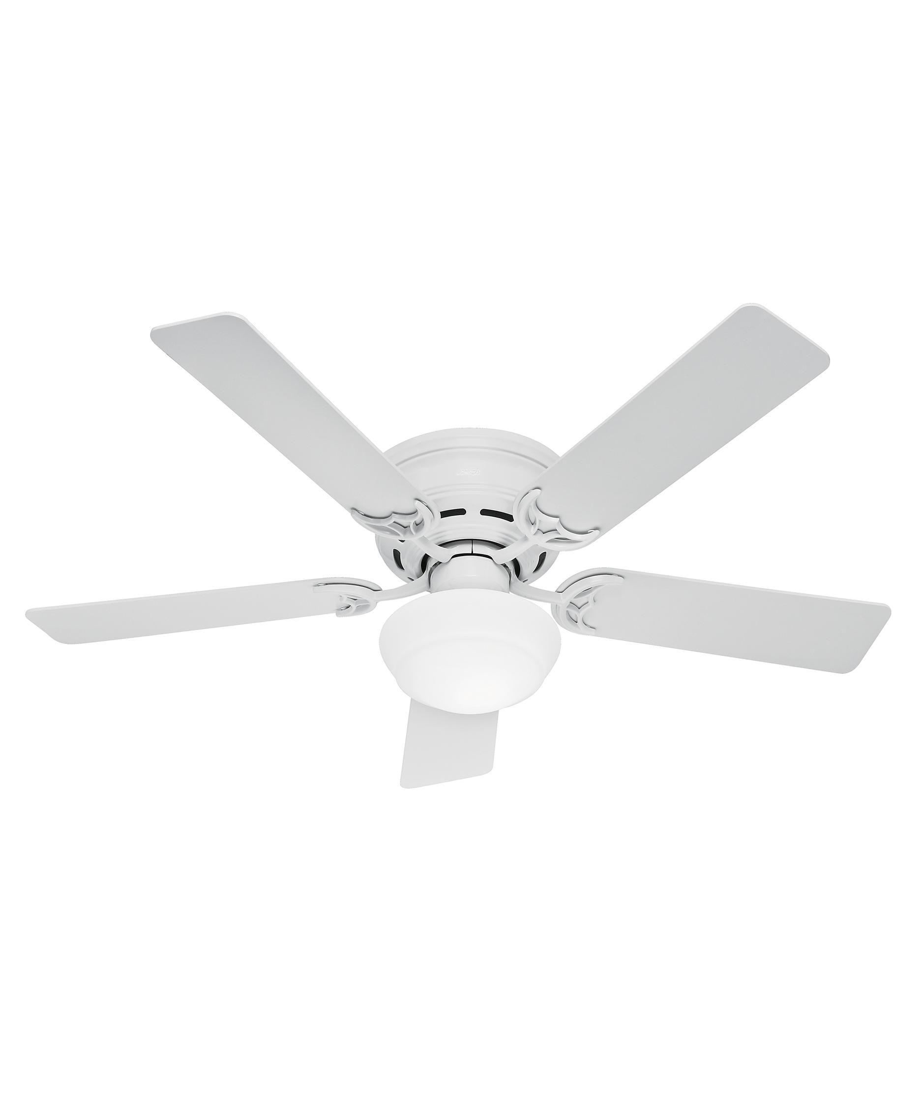 Hunter Fan Low Profile III Plus Energy Smart 52 Inch Flush