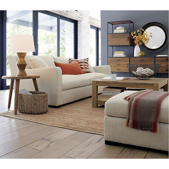 Crate And Barrel Verano Sofa Microfiber Convertible Living Rooms Room