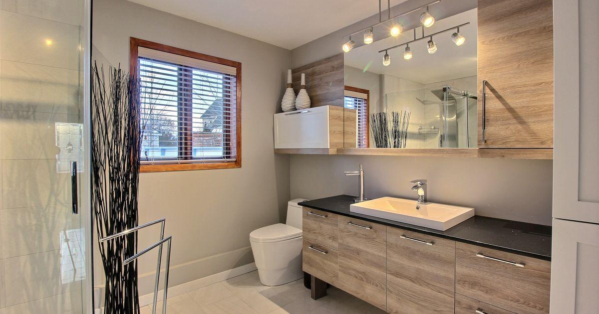 Salle de bain zen Lumineuse et douche cette salle de bain ...