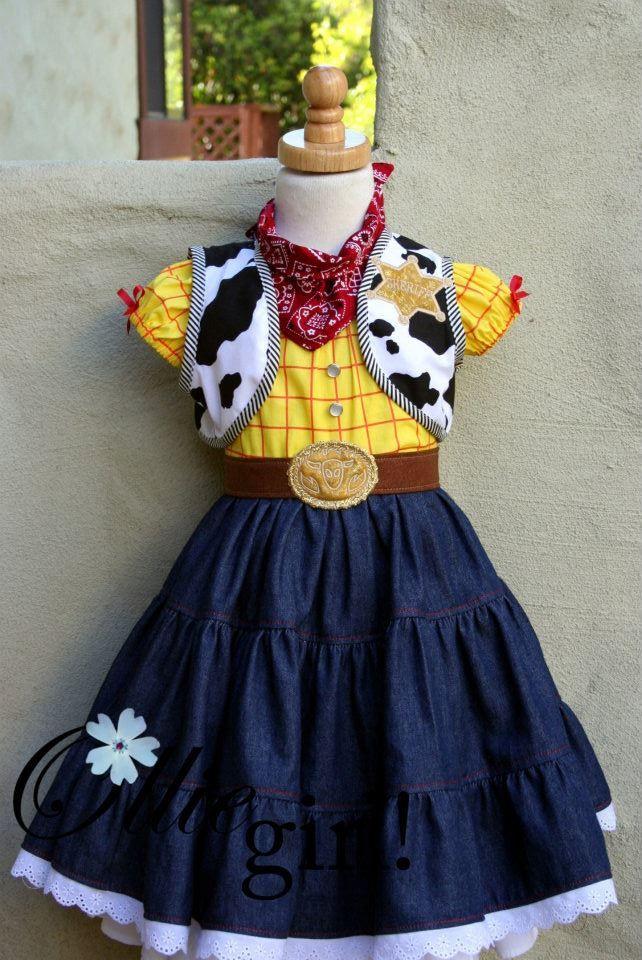 Cute Woody inspired dress Disfraz de vaquera, Disfraces