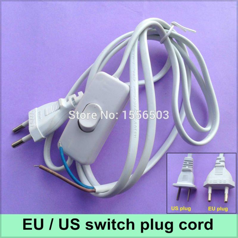 1X Schalter auf linie Kabel 1,8 mt On Off Netzkabel Für LED lampe ...