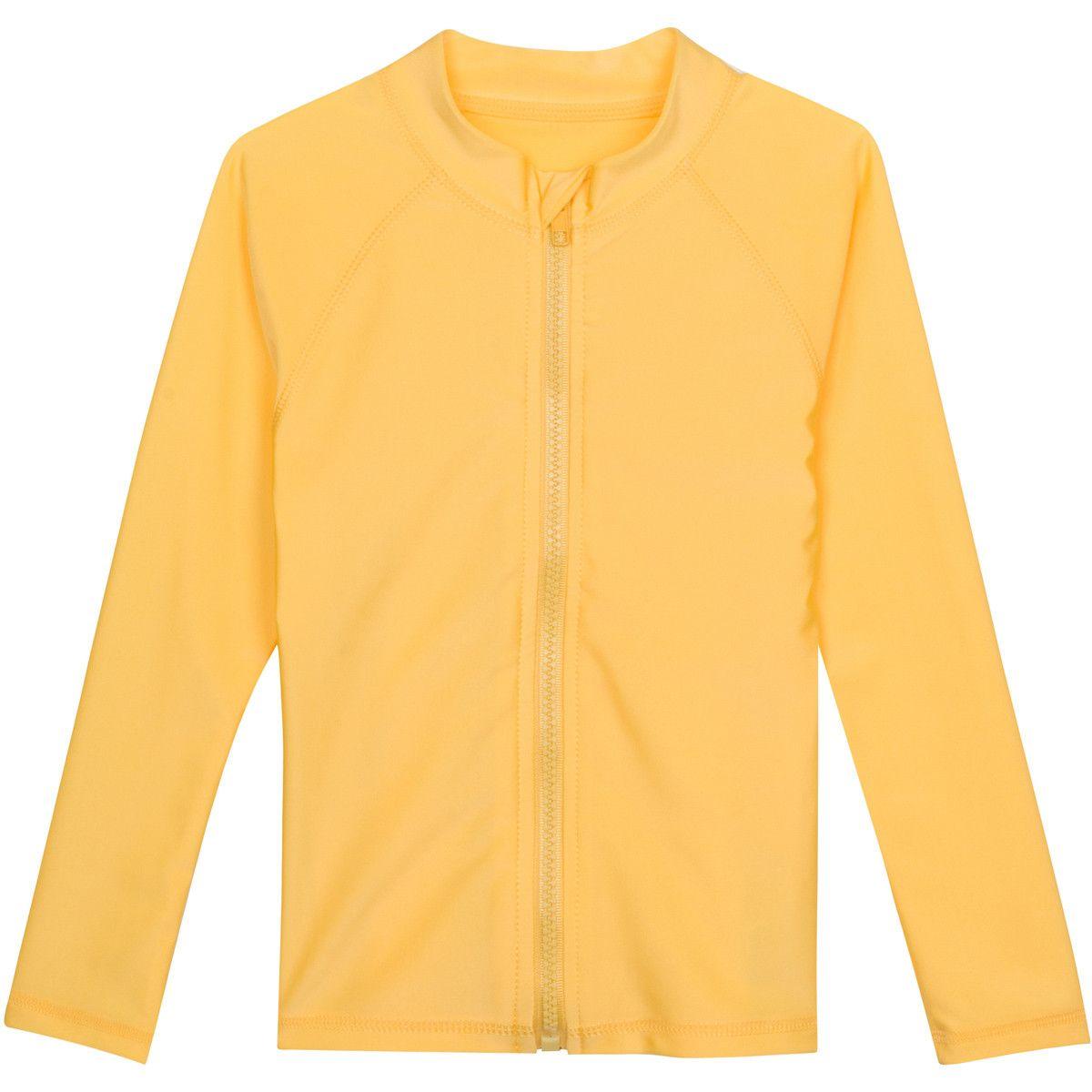 Multiple Colors SwimZip Mens Long Sleeve Zipper Rash Guard UPF 50+