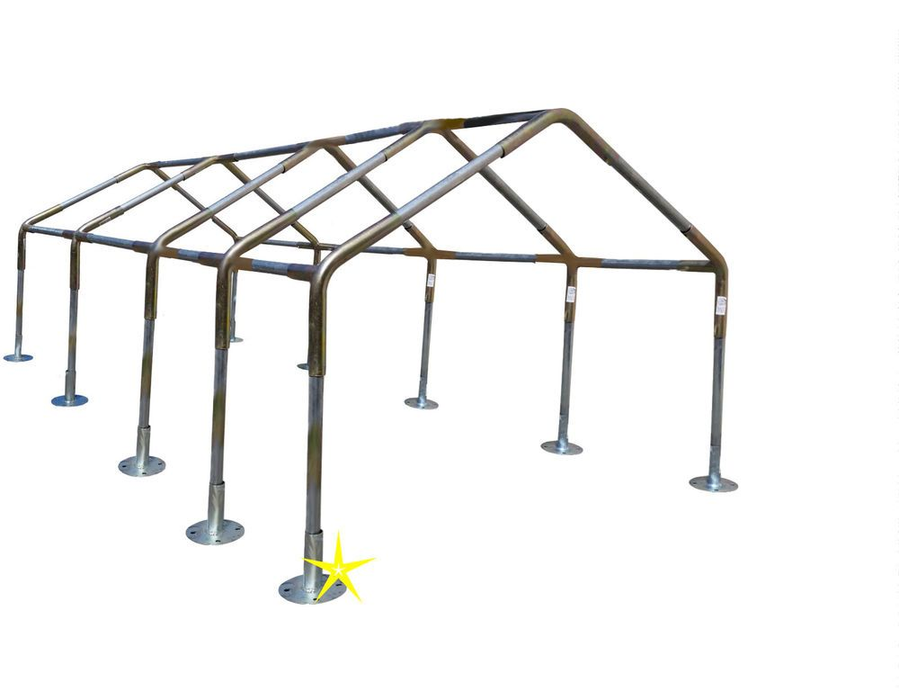 18x40 Carport Canopy Fittings Kit 1 3 8 Rv Boat Tent Shade W O Leg Roof Pipes Unbranded Carportcombokit Carport Canopy Carport Canopy