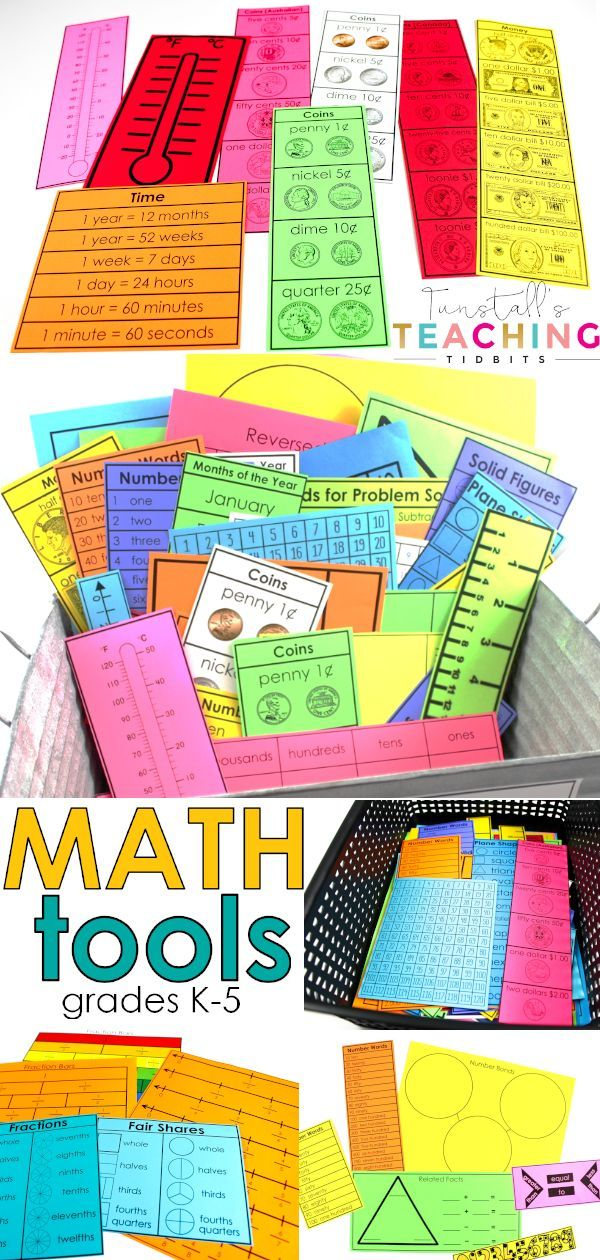 Photo of Math Tools K-5th