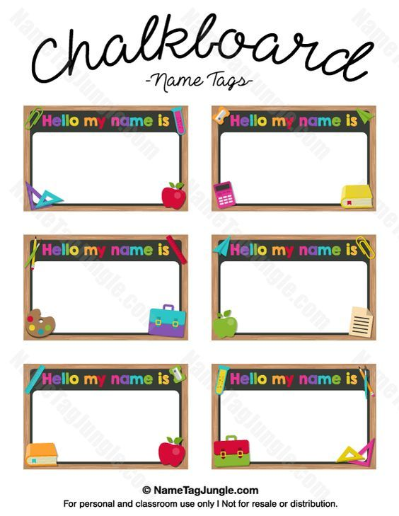 image regarding Printable Name Tags for Preschool named Pin by means of Monica Thompson upon printables Kindergarten popularity