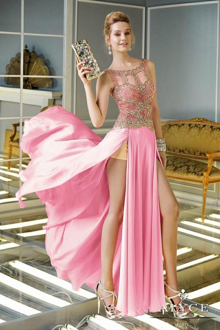 Espectaculares vestidos de baile para fiesta | Especial de vestidos ...