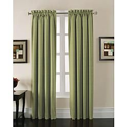Jaclyn Smith Stockton Sage Green Single Blackout Panel These Curtains Will Look Great In The Nursery