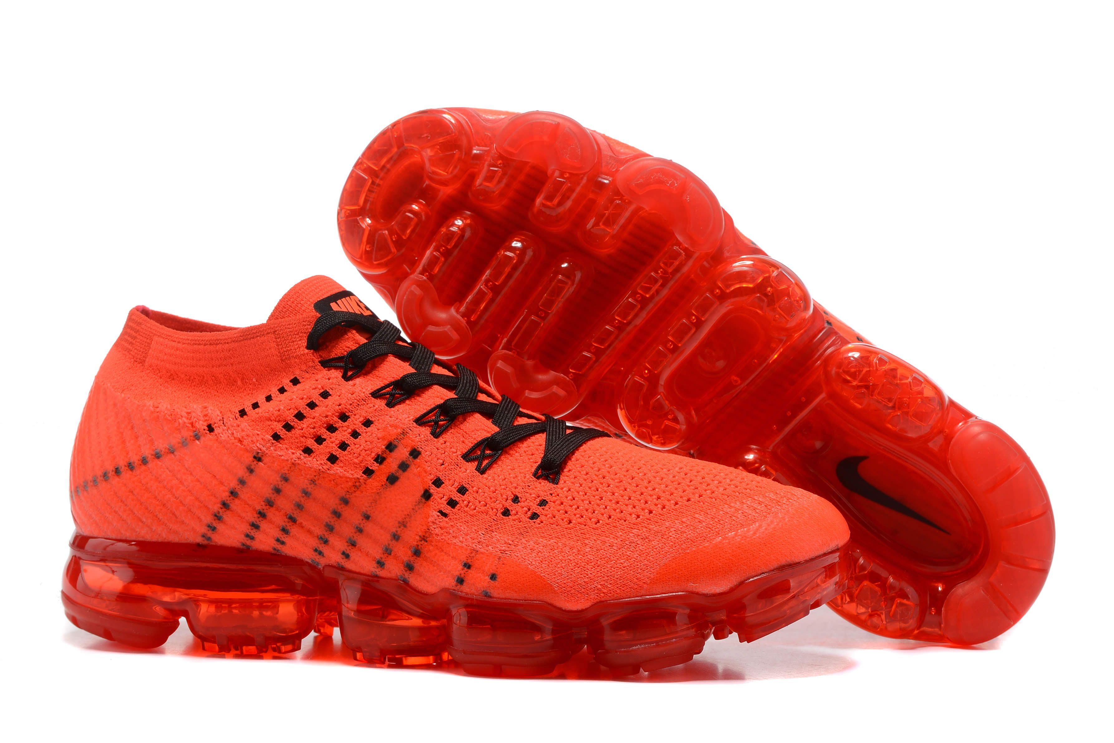 ff54ab94aa australia nike air vapormax mens running shoes black red 7fd8d 96aea; italy men  nike air vapormax flyknit red e6e2b e4fcf