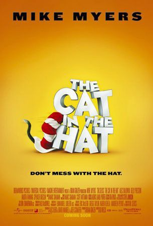 The Cat In The Hat Starring Allan Sherman Daws Butler Pamelyn Ferdin Tony Frazier Two Children Left Home Alone For A Short W Cat Movie Movie Posters Cats