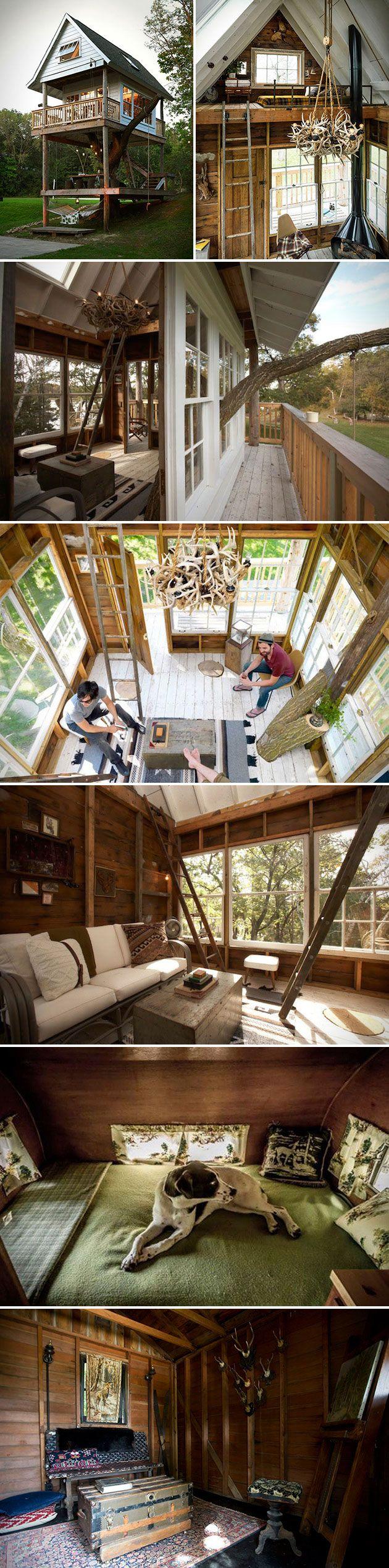 Camp Wandawega Adult Treehouse | Riverside | Pinterest | Minihaus ...