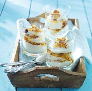 Photo of Griechischer Joghurt mit Honignüssen Rezept  | LECKER