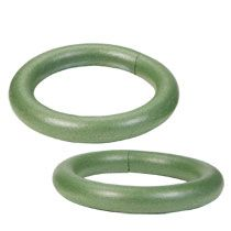 Bulk Green Foam Floral Rings  In At DollartreeCom  Wreath